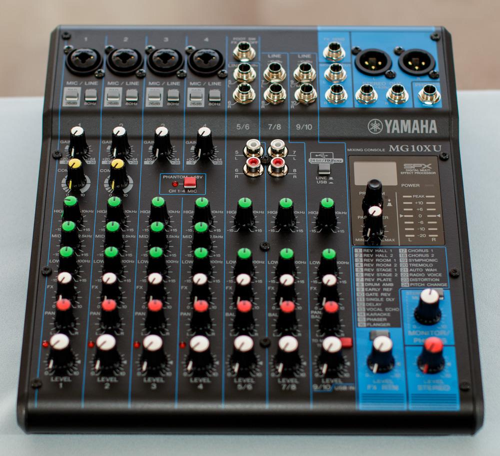 Yamaha Mg10xu Usb