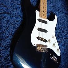Fender Custom Shop Eric Clapton Signature Stratocaster Mercedes Blue 2007 синий