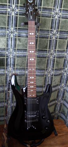 Dean Guitars Vendetta 3.0 2008 Чёрный