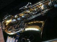 Selmer Bundy II USA 1996  Желтая медь - Альт саксофон