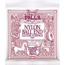 Ernie Ball P02409 ERNESTO PALLA NYLON CLASSICAL BLACK & GOLD BALL END 28-42