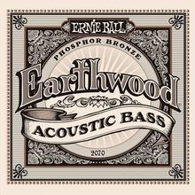 Ernie Ball P02070 Acoustic Bass Earthwood Phosphor Bronze 45-95