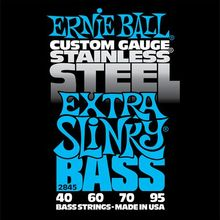 Ernie Ball P02845 Extra Slinky Stainless Steel Bass 40-95