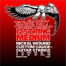 Ernie Ball P02236 12-String Medium Electric Nickel Wound 11-11. 52-28.