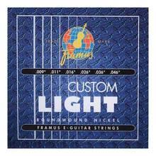 Framus 45210 Blue Label Nickel Roundwound, Custom Light 9-46