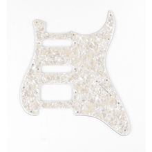 Fender - Pickguard Standard Strat H/S/S White Pearl 4 Ply