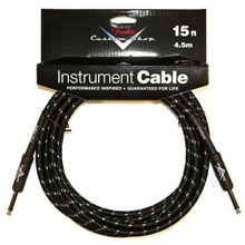 Fender - Custom Shop Cable 15' Black Tweed