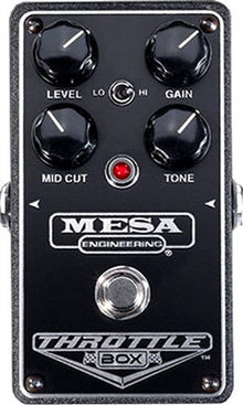 Mesa Boogie - Throttle Box Pedal
