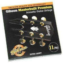 Gibson - Sag-Mb11 Masterbuilt Phosphor Bronze .011-.050