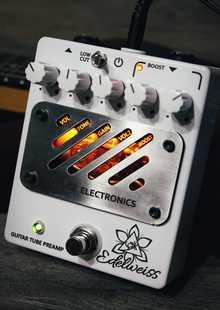Mouse Electronics Edelweiss - ламповый преамп с бустером