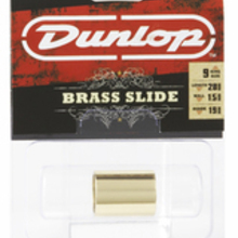 DUNLOP 223 Brass Slide Medium Medium Knuckle (19 x 22 x 28mm, rs 9-10) слайд для гитары латунный