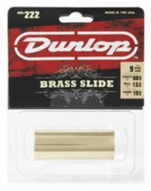 DUNLOP 222 Brass Medium Medium слайд для гитары латунный