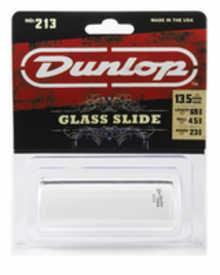 DUNLOP 213 Tempered Glass Heavy Large слайд для гитары стеклянный
