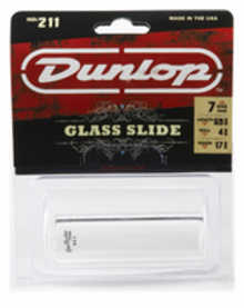 DUNLOP 211 Tempered Glass Heavy Small слайд для гитары стеклянный