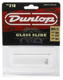 DUNLOP 210 Tempered Glass Medium Medium слайд для гитары стеклянный