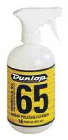 DUNLOP 6516 Formula No. 65 Guitar Polish & Cleaner 16 oz. средство для очистки гитар