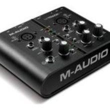 Аудио интерфейс M-Audio MTrack Plus