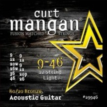 Curt Mangan 29946 Light 80/20 Bronze Acoustic Guitar 12-String 9/46