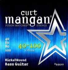 Curt Mangan 44410 Nickel Bass Strings 40/100