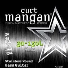 Curt Mangan 42409L Extra Long Stainless Bass 6-String 30/130