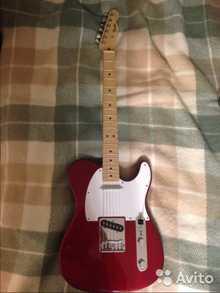 Fender Telecaster 2013 красный