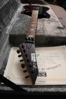 ESP KH-2 Neck Thru  2013 Чёрный