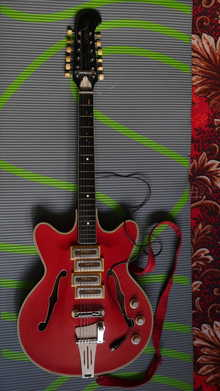 Orfeus  12 - String 1970 red
