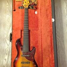 Fender Steve Bailey VI 6-S  2011 сантберст
