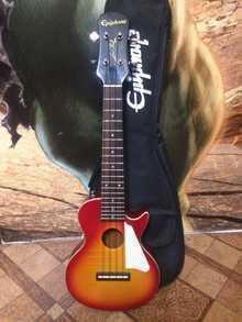 Epiphone LES paul AC/EL ukulele