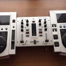 Pioneer CDJ-100s + Behringer VMX100