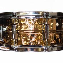 Cadence 5.5X14 Phospher Bronze Snare Hand Hammered 2015 Gold