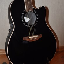 Ovation Standard balladeer 1771 LX made in USA 2008 Черная красавица
