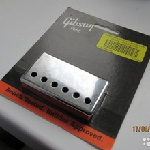 Gibson PRPC-015 Bridge Humbucker Cover  серый