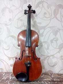 Скрипка целая 4/4 старинная