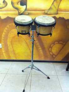 бонго Remo Crown Percussion (Gewa) со стойкой