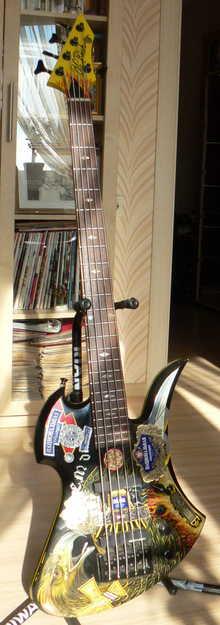 B.C. Rich Mockingbird Custom