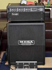 Mesa Boogie  Mark V+Mesa RectifierCab 2x12+Road Case