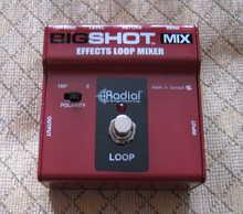 Radial Big Shot Mix - Effects Loop Mixer