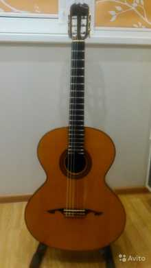Мастеровая гитара концертная 2001 nature