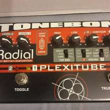 Radial Tonebone Plexitube Distortion Pedal (