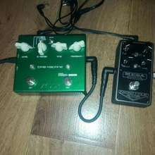 Diy Distortion+ vox satriani time mashine