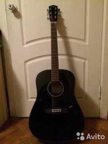 Fender Acoustics CD-60 BK-DS-V