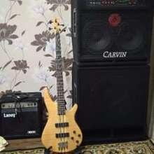 Carvin r 1000 bass amp стэк fender hartke ampeg