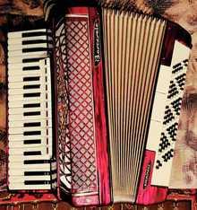 Barcarole  Piano-Akk 1967 красный
