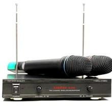 Вокальная радиосистема AUDIOVOICE WL-21VM с 2-мя ручными передатчиками