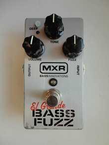 MXR El Grande Bass Fuzz