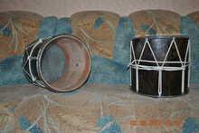 Кавказский барабан Handmade  коричневый