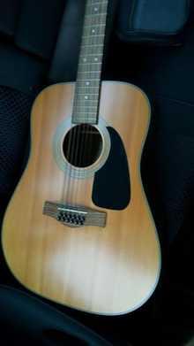 Fender DG-10/12 NAT акустическая 12 струнная гитара