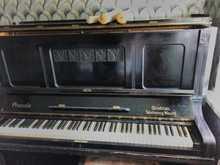 Grotrian Steinweg Nachf Braunschweig пианола 1907 черный