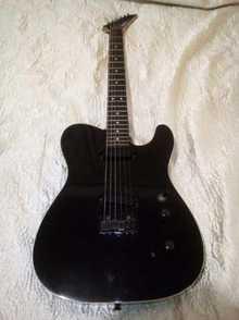 Fernandes Japan TEJ-45 Limited edition 1987 черный, белая окантовка